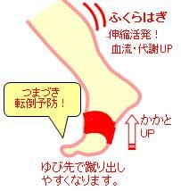button-only@2x 転倒防止目的の高齢者トレーニングの効果を高める足を強くする(バランスを整える)サポーター